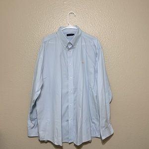 Southern Marsh button down dress shirt long square